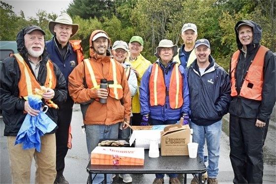 Bow Rotary Club Roadside Cleanup